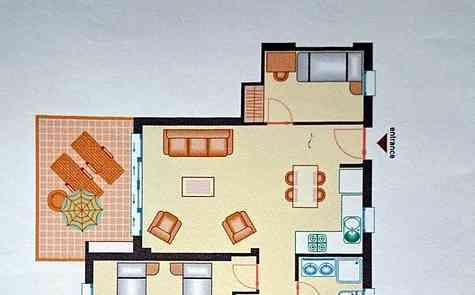 Аренда квартиры в элитной резиденции.