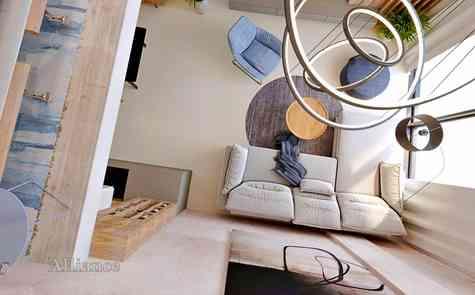 Квартиры студио в комплексе с захватывающими видами и инфраструктурой в Эсентепе, на берегу моря