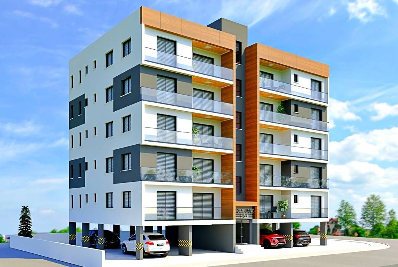 Квартиры с двумя и тремя спальными комнатами в городе Фамагусте