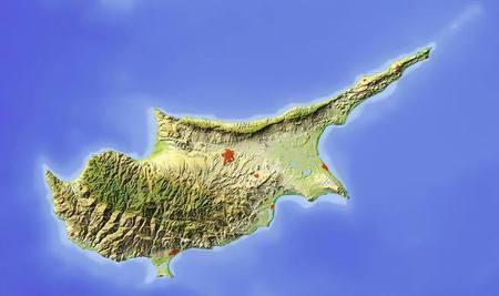Кипр остров, разделённый на две части