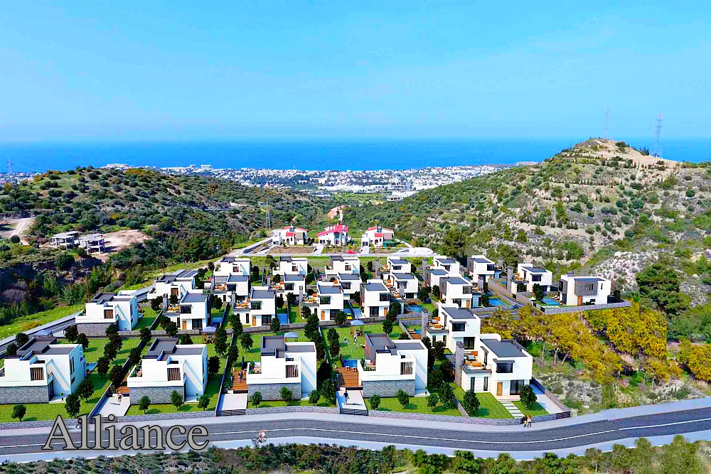 the cost of the properties in Cyprus - Alliance-Estate