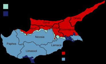 Административные центры Кипра