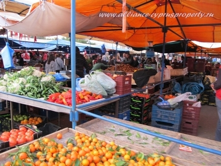 Market in Kyrenia North Cyprus