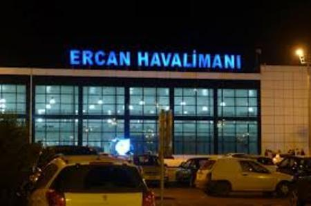 Airport in Northern Cyprus Ercan
