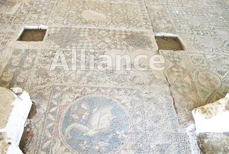 Древняя мозаика найденная на Кипре