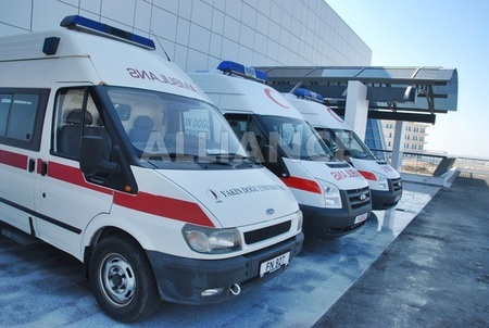 Clinics, hospital in Northern Cyprus, ambulance